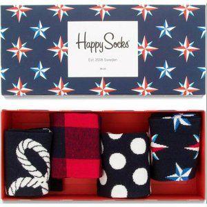Happy Socks Nautical Gift Box - Unisex Socks